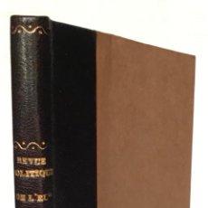 Libros antiguos: REVUE POLITIQUE DE L'EUROPE EN 1825.. Lote 123151106