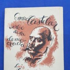 Libri antichi: CUADERNOS DE CULTURA, EMILIO CASTELLAR VERBO DE LA DEMOCRACIA, AÑO 1932. Lote 286169453