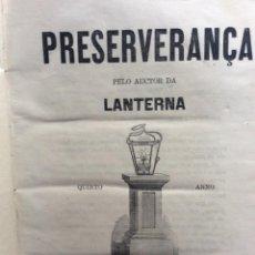 Libros antiguos: A LANTERNA, 35 PANFLETOS CON 35 TITULOS DIFERENTES ( POLITICA ), 1872. MUY RARO. Lote 286728583