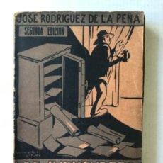 Libros antiguos: LOS AVENTUREROS DE LA POLÍTICA. ALEJANDRO LERROUX. (APUNTES PARA LA HISTORIA DE UN REVOLUCIONARIO.). Lote 123238774