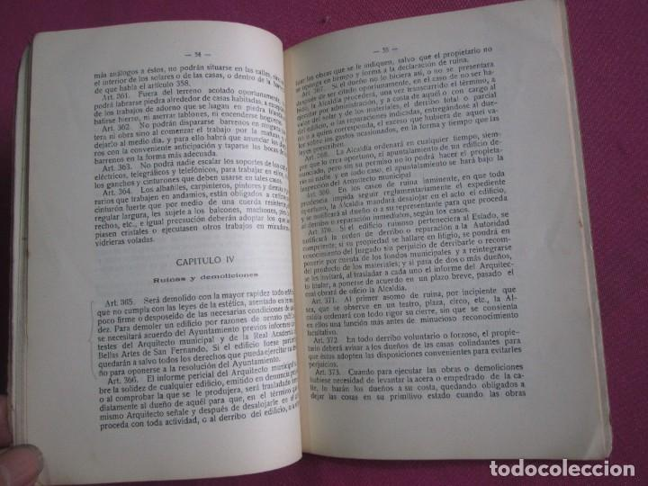 Libros antiguos: ORDENANZAS MUNICIPALES DE LA VILLA DE AVILES Y SU TERMINO ASTURIAS CON EXLIBRIS 1922 L4C1 - Foto 5 - 287936473