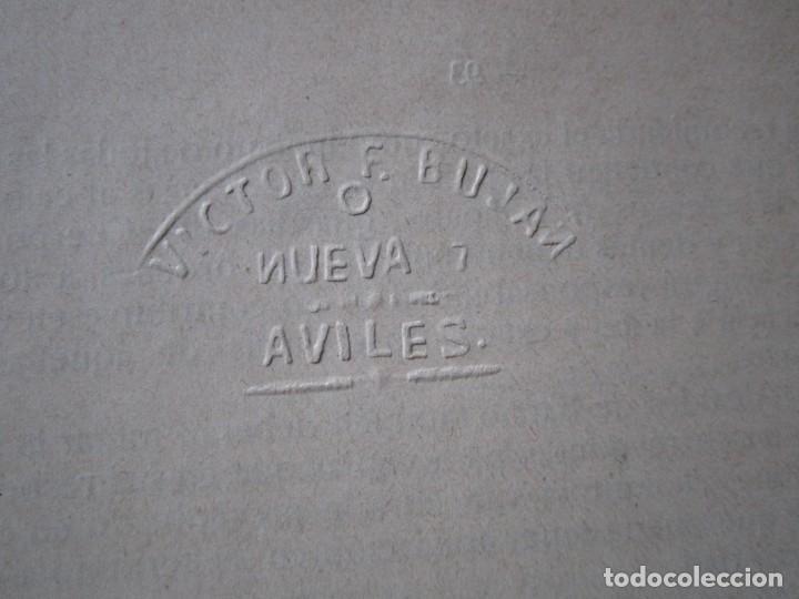 Libros antiguos: ORDENANZAS MUNICIPALES DE LA VILLA DE AVILES Y SU TERMINO ASTURIAS CON EXLIBRIS 1922 L4C1 - Foto 6 - 287936473