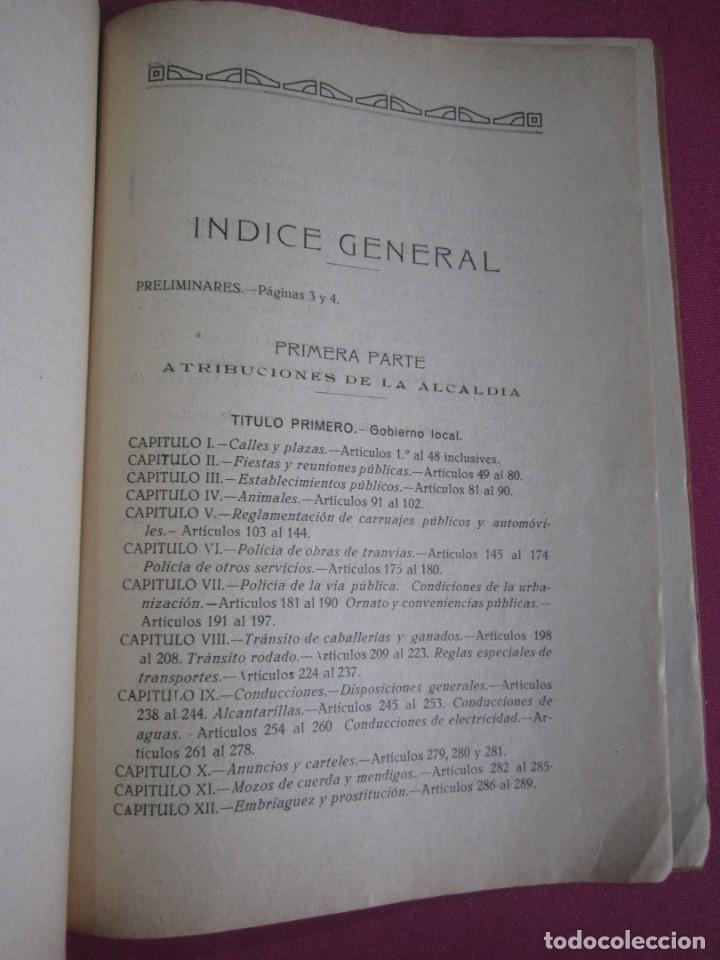 Libros antiguos: ORDENANZAS MUNICIPALES DE LA VILLA DE AVILES Y SU TERMINO ASTURIAS CON EXLIBRIS 1922 L4C1 - Foto 8 - 287936473