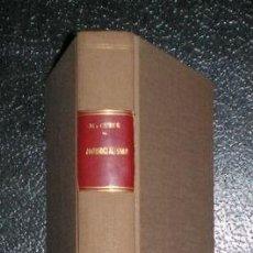 Libros antiguos: CUBER, MARIANO: ANTISOCIALISMO. 1935. Lote 50764710