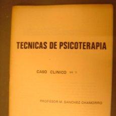 Libros antiguos: TECNICAS DE PSICOTERAPIA,..CASO CLINICO Nº3. Lote 32409661