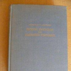 Libros antiguos: TECNICAS PROYECTIVAS DEL DIAGNOSTICO PSICOLOGICO ( ANDERSON) SEGUNDA EDICION . Lote 33005505