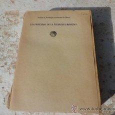 Libros antiguos: LIBRO LOS PROBLEMAS DE LA PSICOLOGIA MODERNA ANDRES NIN ED. M. AGUILAR 1935 L-3284. Lote 36795066