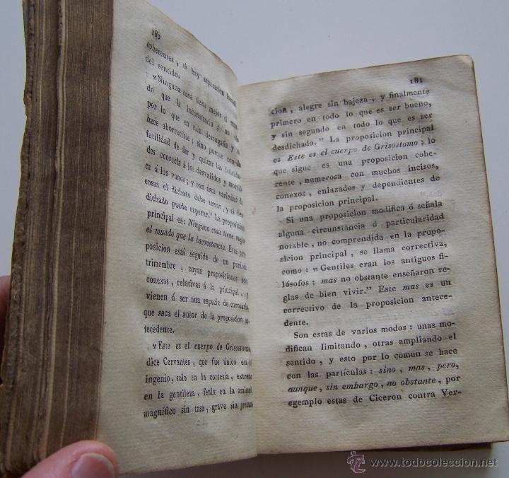 Libros antiguos: Barcelona Circa 1820 LOGICA Y ARTE DE BIEN HABLAR Por JOSEF PABLO BALLOT Barcelona - Foto 7 - 44900021