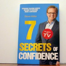 Libros antiguos: 7 SECRETS OF CONFIDENCE (STEVE MILLER). Lote 50266543