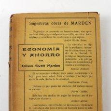 Libros antiguos: L-3542 ABRIRSE PASO ORISON SWETT MARDEN. ANTONIO ROCH EDITOR. Lote 56233759