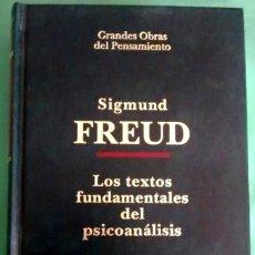 Libros antiguos: LOS TEXTOS FUNDAMENTALES DEL PSICOANALISIS DE SIGMUND FREUD. Lote 59478209