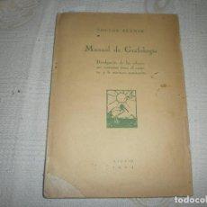 Libros antiguos: MANUAL DE GRAFOLOGÍA- DOCTOR BRAMSK. MADRID (1924) . Lote 91660310