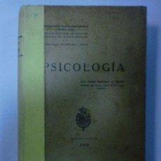 Libros antiguos: PSICOLOGÍA. PADRE F. M. PALMÉS. EDICION OFICIAL, 1928. JOAQUIN HORTA, IMPRESOR. BARCELONA. 433PAGS. Lote 116641892