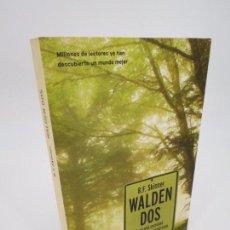 Livros antigos: WALDEN DOS. HACIA UNA SOCIEDAD CIENTÍFICAMENTE CONSTRUÍDA (SKINNER) MARTINEZ ROCA 2005 CONDUCTISMO. Lote 76024823