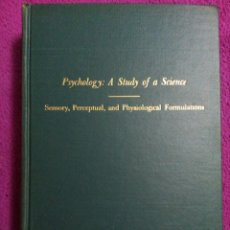Libros antiguos: PSYCHOLOGY: A STUDY OF A SCIENCE: STUDY I. VOLUMEN I.1959 SIGMUND KOCH. Lote 79806158