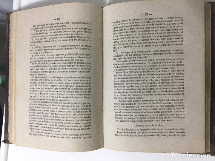 Libros antiguos: CURSO DE PSICOLOGÍA Y LÓGICA por D.Pedro felipe Monlau - 7ª EDICION -1866 - Foto 4 - 79967405
