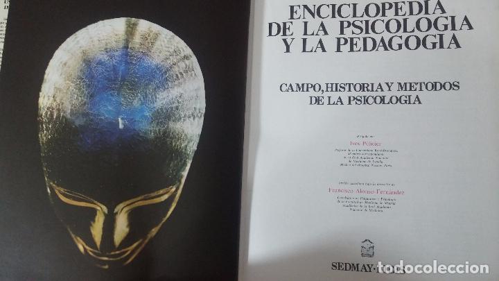 Libros antiguos: Enciclopedia de la Psicologia y pedagogia - Foto 6 - 82141120
