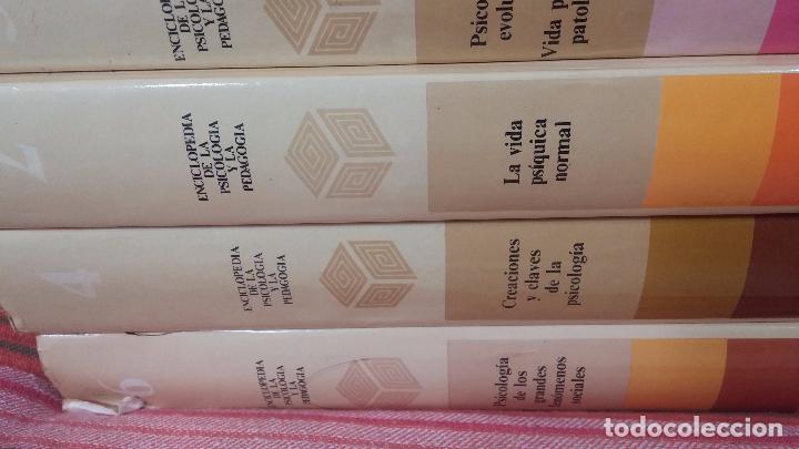 Libros antiguos: Enciclopedia de la Psicologia y pedagogia - Foto 15 - 82141120