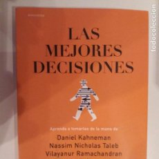 Libros antiguos: LAS MEJORES DECISIONES - VV.AA., EDITA JOHN BROCKMAN, 2015. Lote 84439216