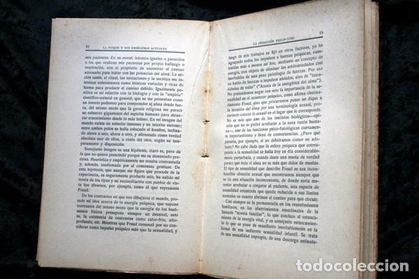 Libros antiguos: LA PSIQUE Y SUS PROBLEMAS ACTUALES - C. G. JUNG - Foto 2 - 85103796
