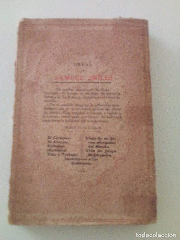 Libros antiguos: SAMUEL SMILES: EL CARACTER, edición de 1935. EDITORIAL RAMON SOPENA - Foto 5 - 89607940