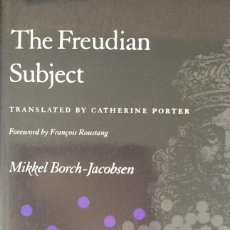 Libros antiguos: THE FREUDIAN SUBJECT. Lote 91095375