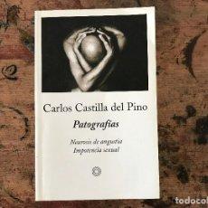 Libros antiguos: PATOGRAFÍAS. NEUROSIS DE ANGUSTIA .IMPOTENCIA SEXUAL CARLOS CASTILLA DEL PINO. Lote 91348690