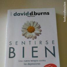 Libros antiguos: SENTIRSE BIEN - DAVID D. BURNS. Lote 94984411