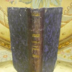 Libros antiguos: ELEMENTOS DE PSICOLOGÍA, DE PEDRO FELIPE MONLAU. 1.875.. Lote 95587323
