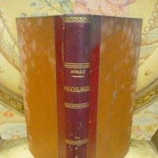 Libros antiguos: ELEMENTOS DE PSICOLOGÍA FUNDADA EN LA EXPERIENCIA I: LA VIDA SENSIBLE, DE MARCELINO ARNÁIZ. 1.904.. Lote 95665415