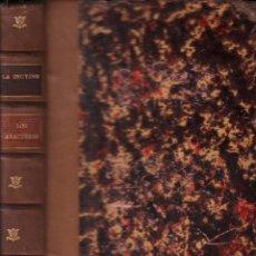 Libros antiguos: LOS CARACTERES DE TEOFRASTO - LA BRUYERE / MUNDI-2708. Lote 101344143