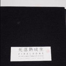 Libros antiguos: ZIBALDONE DE LAS CINCO ETAPAS DE LA VIDA CINCO X NUEVE HAIKUS VISUALES. Lote 103442167