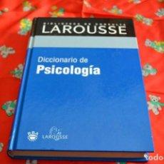Libros antiguos: DICCIONARIO DE PSICOLOGÍA LAROUSSE. Lote 103836607