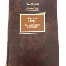 Libros antiguos: LA INTERPRETACIÓN DE LOS SUEÑOS (FREUD). Lote 104071023