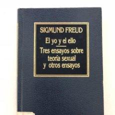 Libros antiguos: EL YO Y EL ELLO TRES ENSAYOS SOBRE TEORÍA SEXUAL FREUD. Lote 107917795