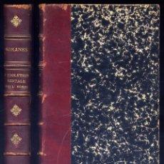Libros antiguos: ROMANES, GEORGE JOHN. L'ÉVOLUTION MENTALE CHEZ L'HOMME, ORIGINE DES FACULTÉS HUMAINES. 1891.. Lote 109340691