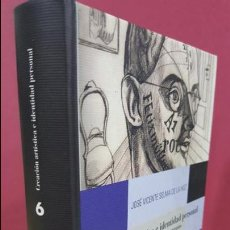 Libros antiguos: CREACIÓN ARTÍSTICA E IDENTIDAD PERSONAL: CULTURA, PSICOANÁLISIS Y CONCEPTOS DE NARCISISMO...SELMA DE. Lote 114707463