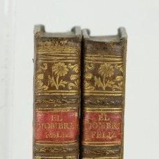 Libros antiguos: EL HOMBRE FELIZ, INDEPENDIENTE DEL MUNDO-EODORO DE ALMEYDA-ED. POR BLAS ROMAN, MADRID 1784. Lote 115609759