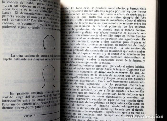 Libros antiguos: CURSO Y DISCURSO DE LA OBRA DE JACQUES LACAN - ANTONIO GODINO CABAS - RARO - AGOTADO - Foto 2 - 116598511