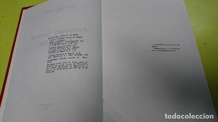 Libros antiguos: LIBRO PSICOLOGÍA GENERAL Y EVOLUTIVA - CANDIDA VELASCO - AÑO 1977 - LEX NOVA - Foto 4 - 119364311