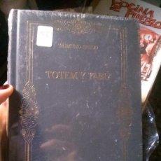 Libros antiguos: TOTEM Y TABÚ, SIGMUND FREUD, BIBLIOTECA DE LOS GRANDES PENSADORES.. Lote 121645011