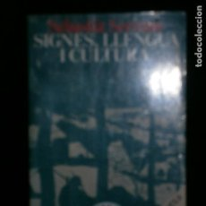 Libros antiguos: F1 SIGNES LLENGUA I CULTURA SEBASTIA SERRANO. Lote 122064671