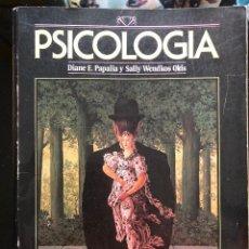 Libros antiguos: PAPALIA Y OTROS PSICOLOGÍA MC GRAW HILL 1998. Lote 122129551