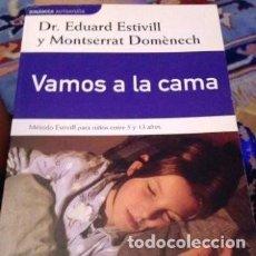 Libros antiguos: DIFICULTADES SUEÑOS M. ESTIVILL ENTRE 5 Y 13 AÑOS. Lote 126021631