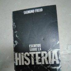 Libros antiguos: FREUD, ESCRITOS SOBRELA HISTERIA, ED ALIANZA, 3ª ED. 1984. Lote 132811390