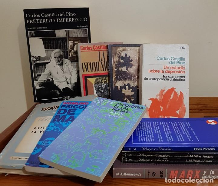 Libros antiguos: LOTE DE 10 LIBROS DE PSICOLOGÍA Y 1 DE PEDAGOGÍA. - Foto 2 - 137659110