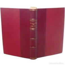 Libros antiguos: 1932 - 1ª ED. - GREGORIO MARAÑÓN: AMIEL, UN ESTUDIO SOBRE LA TIMIDEZ - PRIMERA EDICIÓN - PIEL. Lote 138682738