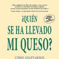 Libros antiguos: ¿QUIÉN SE HA LLEVADO MI QUESO?. - JOHNSON, SPENCER.. Lote 143559026