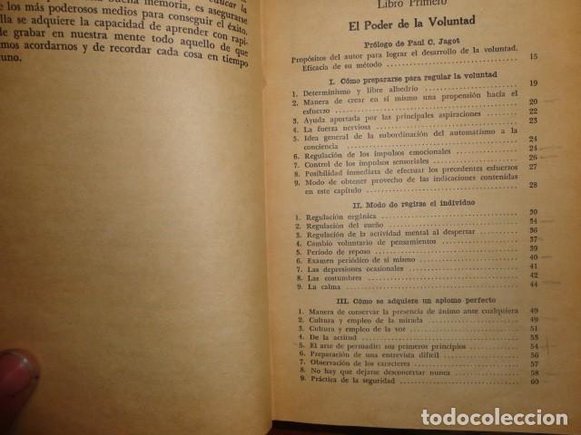 Libros antiguos: obras de jagot, enciclopedia cuspide para triunfar en la vida, Joaquin gil editor - Foto 5 - 155379930