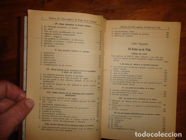 Libros antiguos: obras de jagot, enciclopedia cuspide para triunfar en la vida, Joaquin gil editor - Foto 6 - 155379930